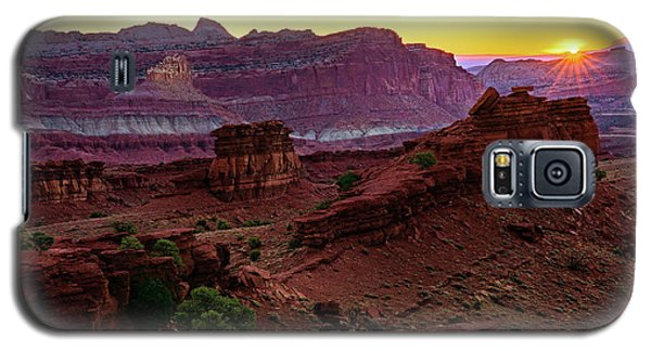 Capitol Reef Sunrise Galaxy S5 Case