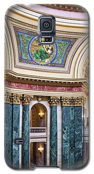 Capitol Rotunda -madison - Wisconsin Galaxy S5 Case