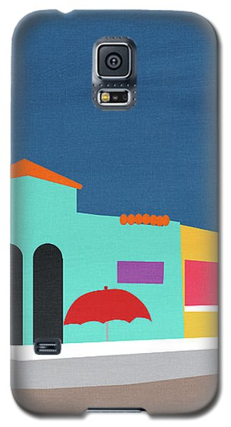 Capitola Venetian- Art By Linda Woods Galaxy S5 Case by Linda Woods