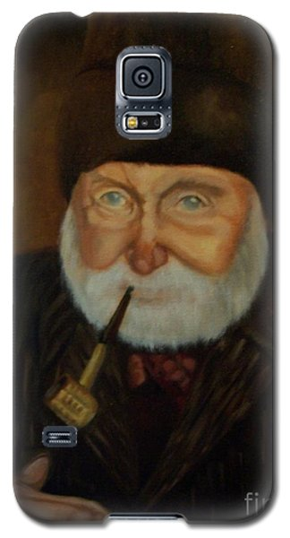 Galaxy S5 Case featuring the painting Cap'n Danny by Marlene Book