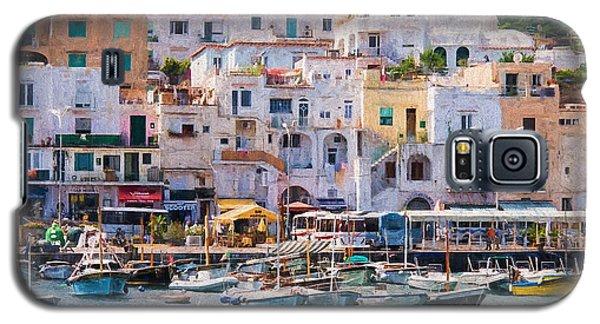 Capri Boat Harbor Galaxy S5 Case