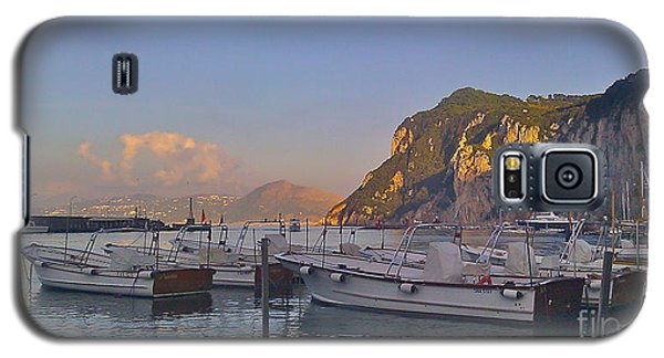 Capri- Harbor Boats Galaxy S5 Case