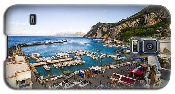 Capri Harbor Galaxy S5 Case