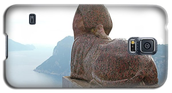 Galaxy S5 Case featuring the photograph Capri, Villa San Michele 1 by Wilhelm Hufnagl