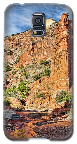 Caprock Canyon Cliff Galaxy S5 Case