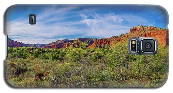 Caprock Canyon Panorama 2 Galaxy S5 Case