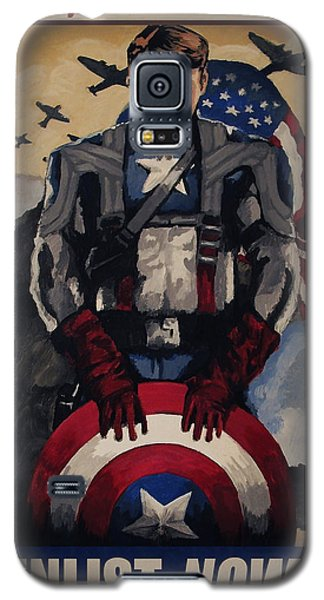 Captain America Recruiting Poster Galaxy S5 Case