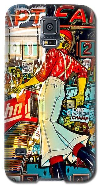 Captain Fantastic - Pinball Galaxy S5 Case