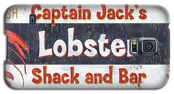 Catfish Galaxy S5 Case - Captain Jack's Lobster Shack by Debbie DeWitt
