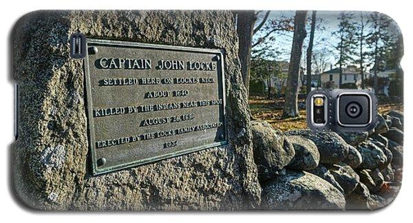 Captain John Locke Monument  Galaxy S5 Case