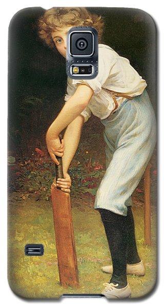 Cricket Galaxy S5 Case - Captain Of The Eleven by Philip Hermogenes Calderon