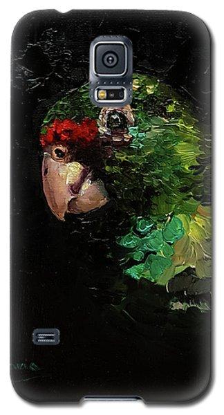 Captain The Parrot Galaxy S5 Case