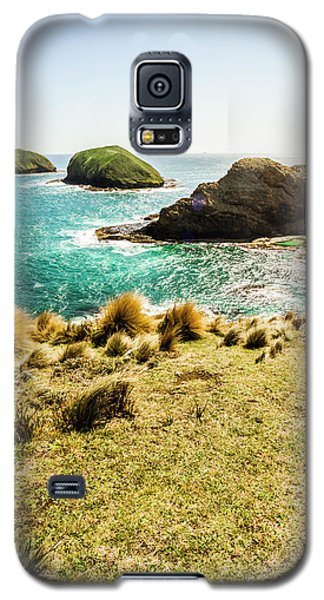 Captivating Coastal Cliff Galaxy S5 Case