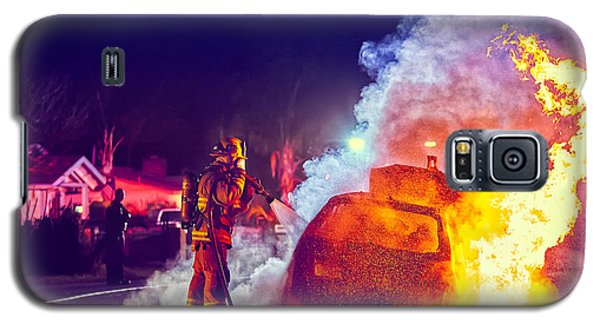Car Arson  Galaxy S5 Case