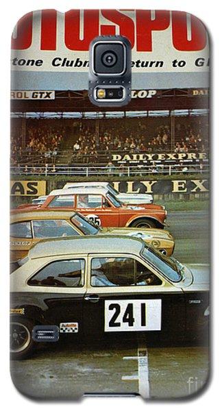Robert Smith Music Galaxy S5 Case - Car Magazine by TSB Art Gallery Dennis Thompson Jr Curator Photographer