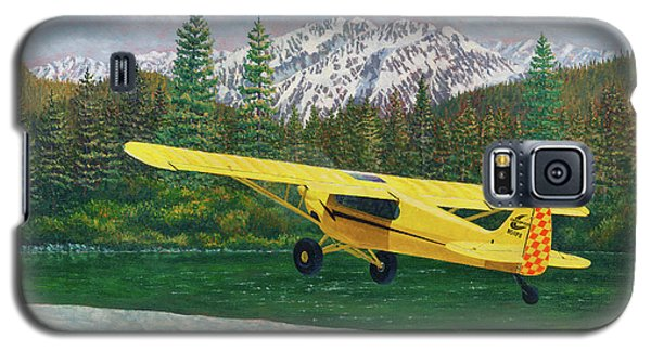 Carbon Cub Riverbank Takeoff Galaxy S5 Case