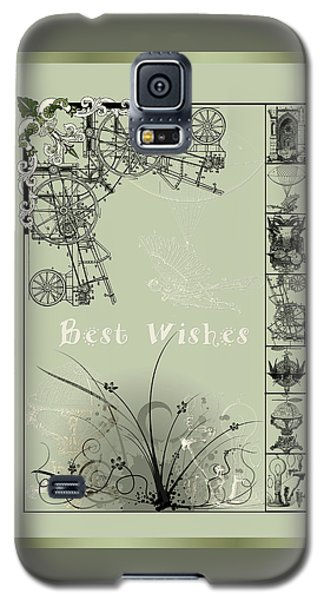 Card Best Wishes Galaxy S5 Case