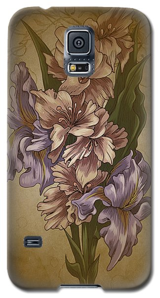 Card Floral Anyttime Galaxy S5 Case
