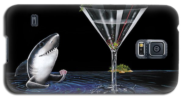 Card Galaxy S5 Case - Card Shark by Michael Godard