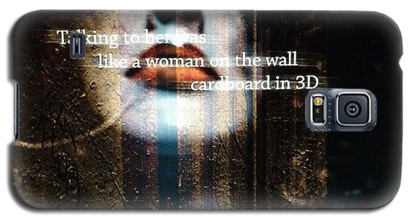 Beautiful Galaxy S5 Case - Cardboard In 3d   by Steven Digman