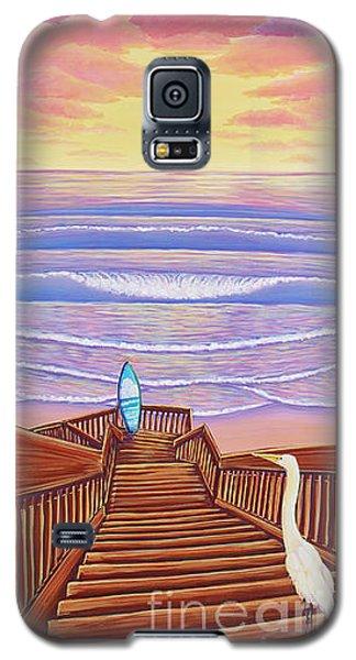 Cardiff Sunset Galaxy S5 Case