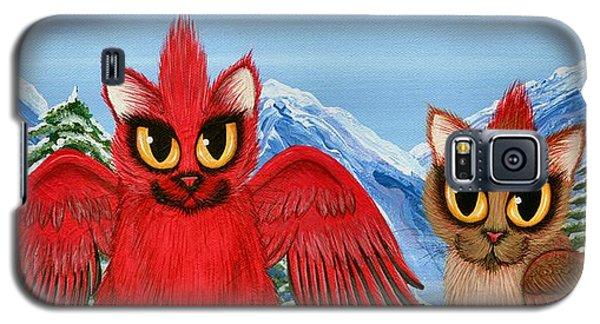 Cardinal Cats Galaxy S5 Case
