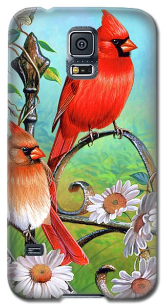 Cardinal Day 3 Galaxy S5 Case by JQ Licensing