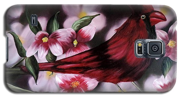 Cardinal Galaxy S5 Case by Dianna Lewis