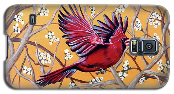 Cardinal In Flight Galaxy S5 Case