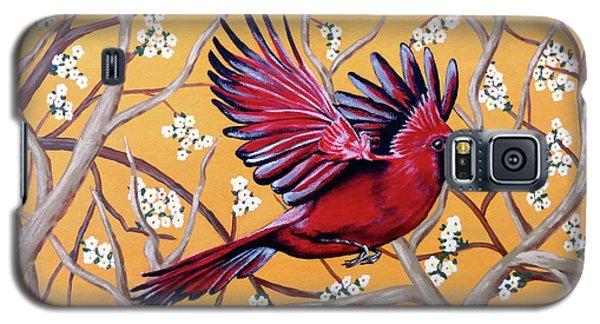 Cardinal In Flight Galaxy S5 Case