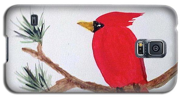 Cardinal In My Backyard Galaxy S5 Case