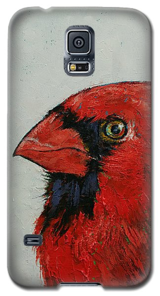 Cardinal Galaxy S5 Case by Michael Creese