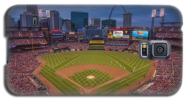 Cardinal Nation Busch Stadium St. Louis Cardinals Twilight 2015 Galaxy S5 Case
