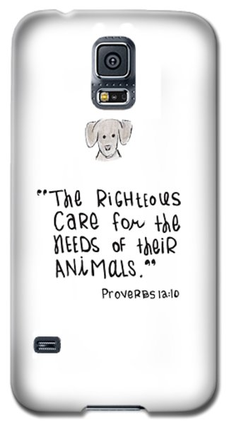 Care For Animals Galaxy S5 Case
