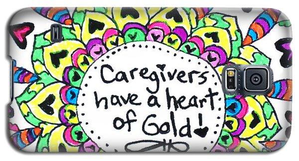 Caregiver Flower Galaxy S5 Case