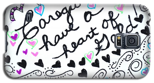 Caregiver Hearts Galaxy S5 Case