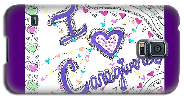 Caring Heart Galaxy S5 Case
