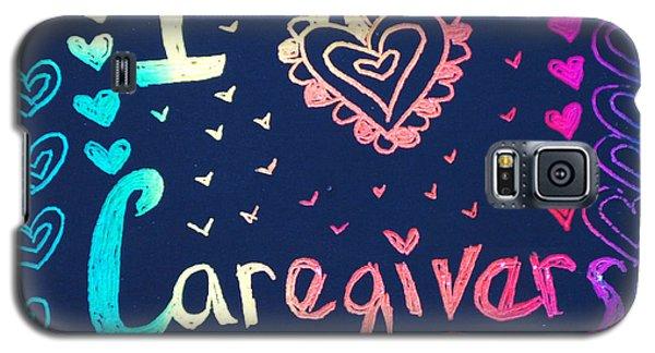Caregiver Rainbow Galaxy S5 Case