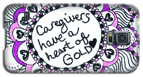 Caregiver Sun Galaxy S5 Case