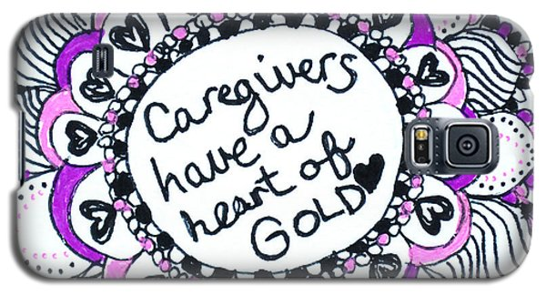 Caregiver Sun Galaxy S5 Case