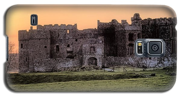 Carew Castle Coral Sunset Galaxy S5 Case
