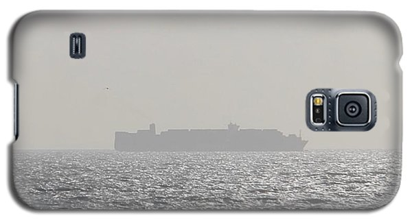 Galaxy S5 Case featuring the photograph Cargo Au Large by Marc Philippe Joly