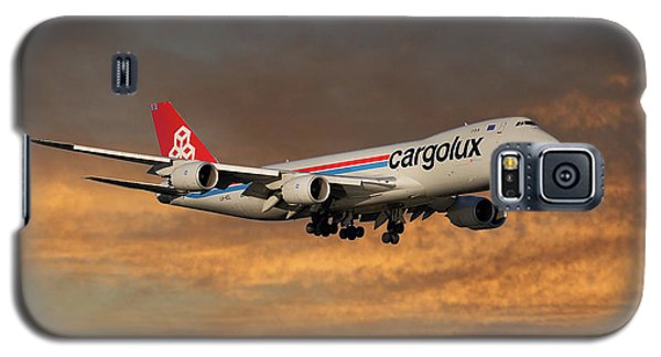 Jet Galaxy S5 Case - Cargolux Boeing 747-8r7 3 by Smart Aviation