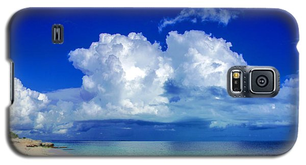 Caribbean Clouds Galaxy S5 Case