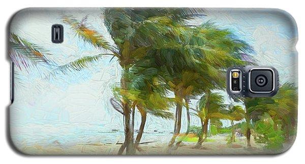 Caribbean Getaway Galaxy S5 Case