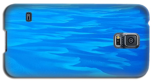 Caribbean Ocean Abstract Galaxy S5 Case