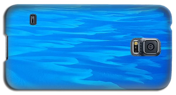 Galaxy S5 Case featuring the photograph Caribbean Ocean Abstract by Jetson Nguyen