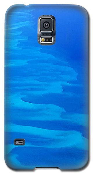 Galaxy S5 Case featuring the photograph Caribbean Ocean Mosaic  by Jetson Nguyen