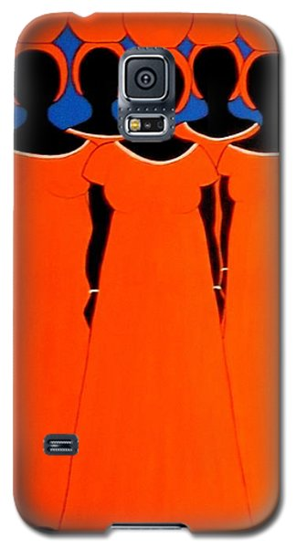 Caribbean Orange Galaxy S5 Case by Stephanie Moore