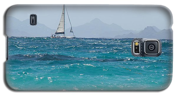 Galaxy S5 Case featuring the photograph Caribbean Sailing by Margaret Bobb